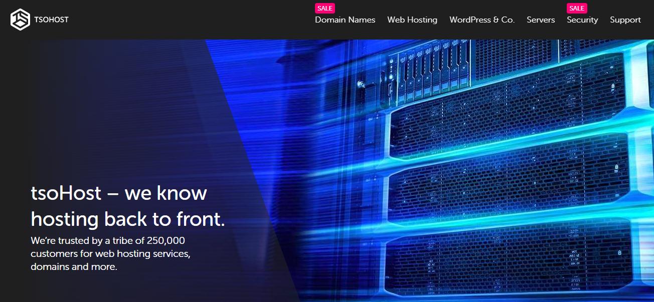 tsohost - web hosting