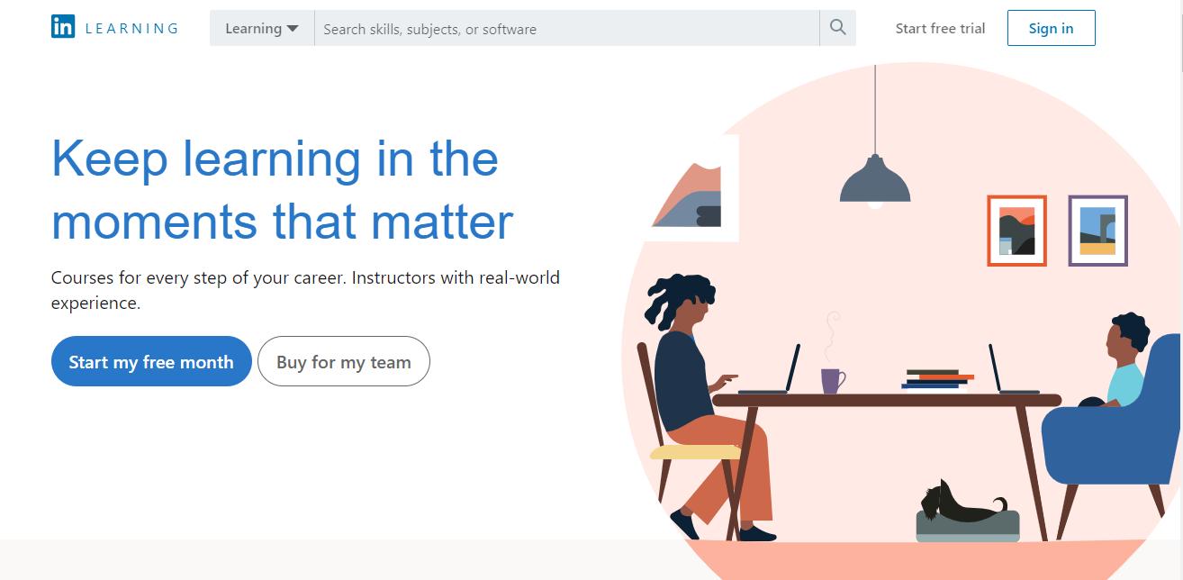 LinkedIn-Learning-online-courses